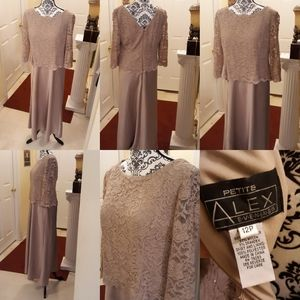 Alex Evenings formal gown NWOT